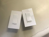 Dimmer switches out of the package