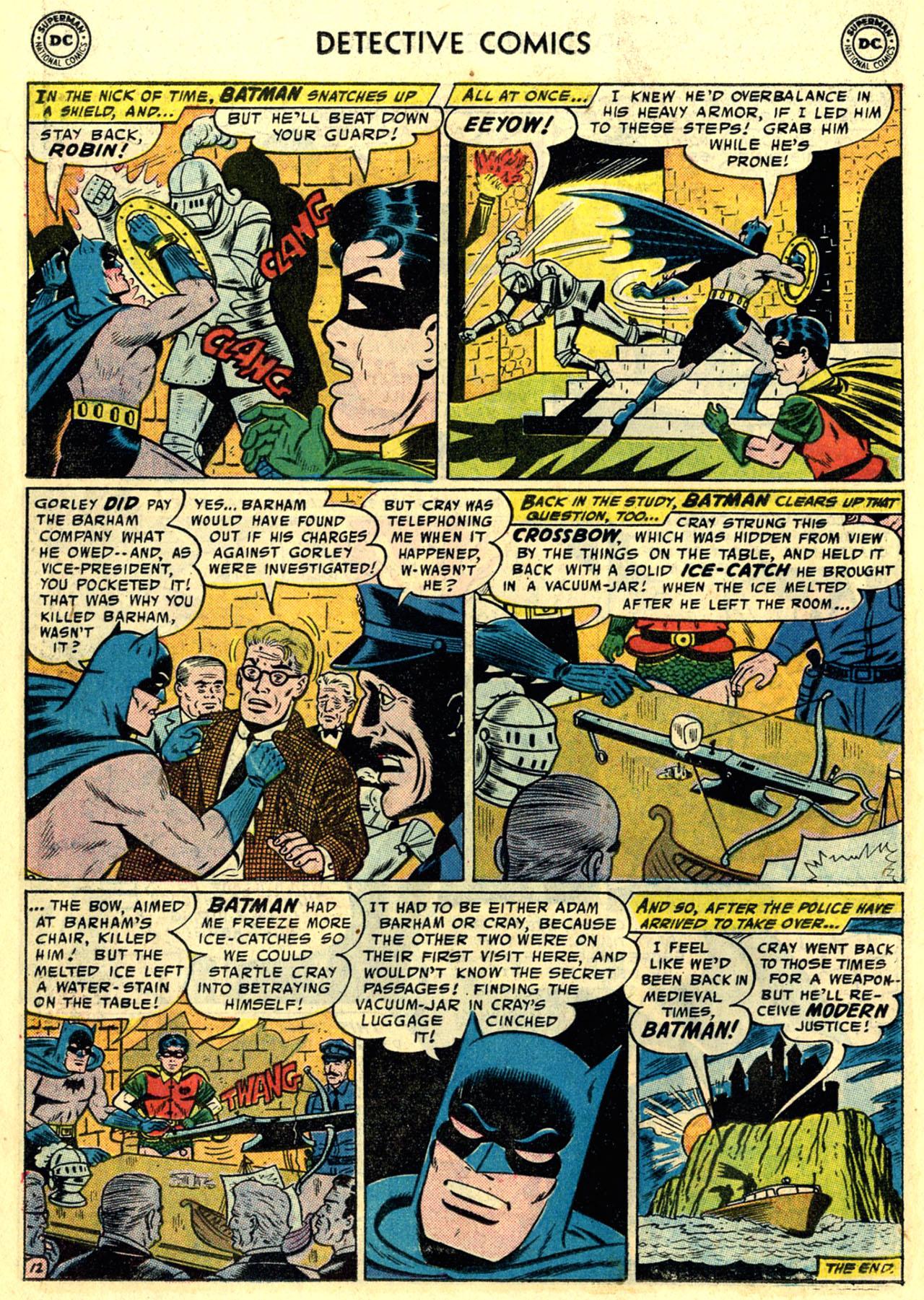 Read online Detective Comics (1937) comic -  Issue #246 - 14