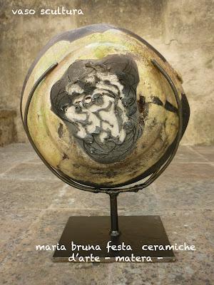 maria bruna festa ceramiche darte CERAMICHE RAKU