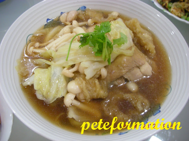 The Food Recipe Cabbage Pork Ribs Soup