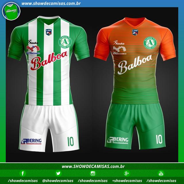 5d5aafb21d Keuka divulga as novas camisas do Alianza - Show de Camisas