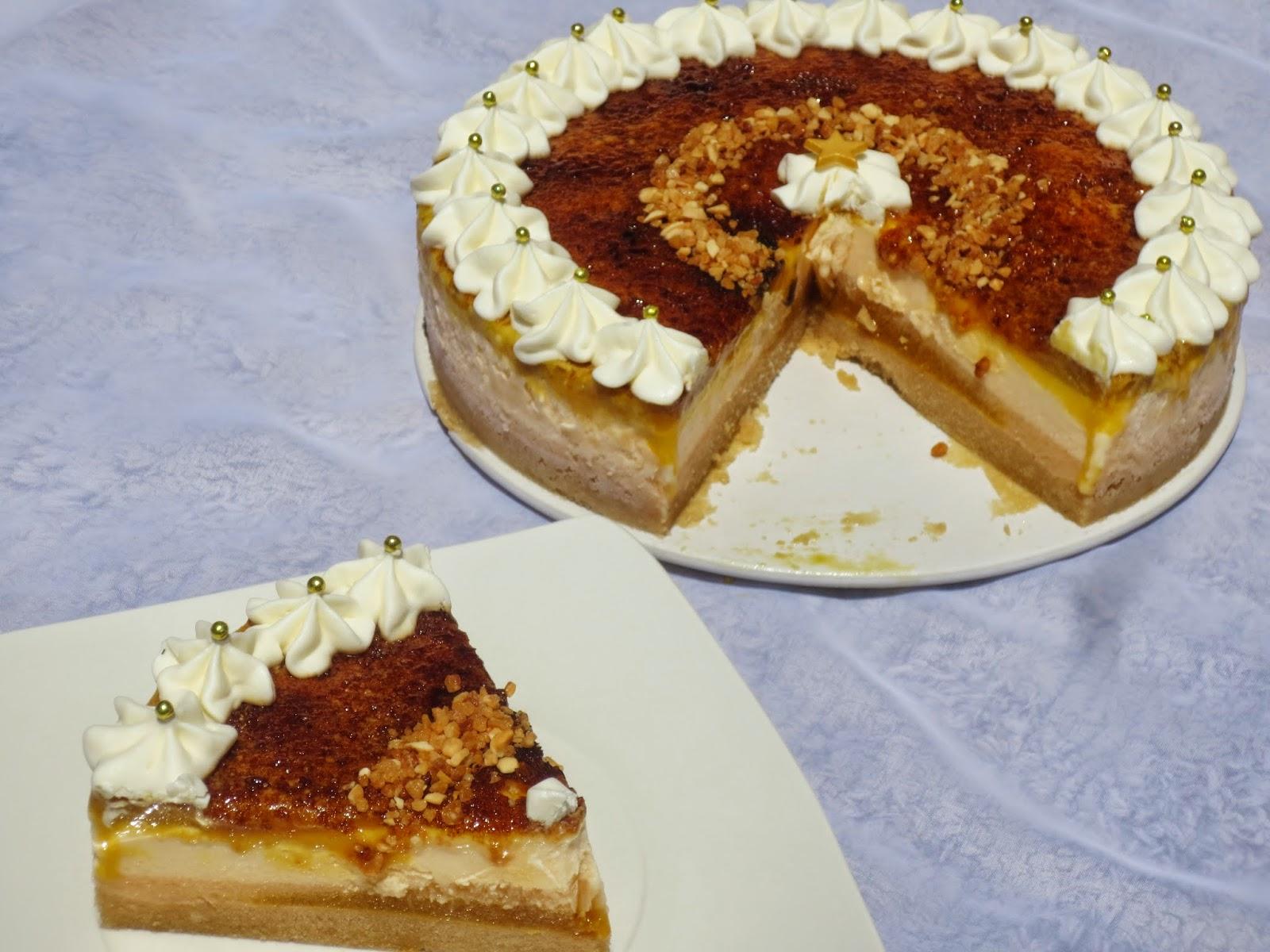 Tarta helada de whisky Ana Sevilla cocina tradicional