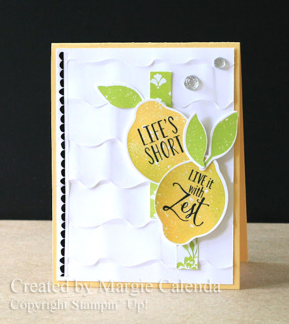 Stampin' Up Lemon Zest