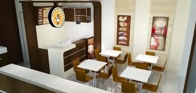 Konsep Kafe BROWNIES MARTABAK (Tampak Kiri)