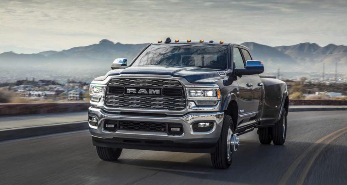 Diario Automotor: RAM 2500-3500 2019 HEAVY DUTY: UN ...