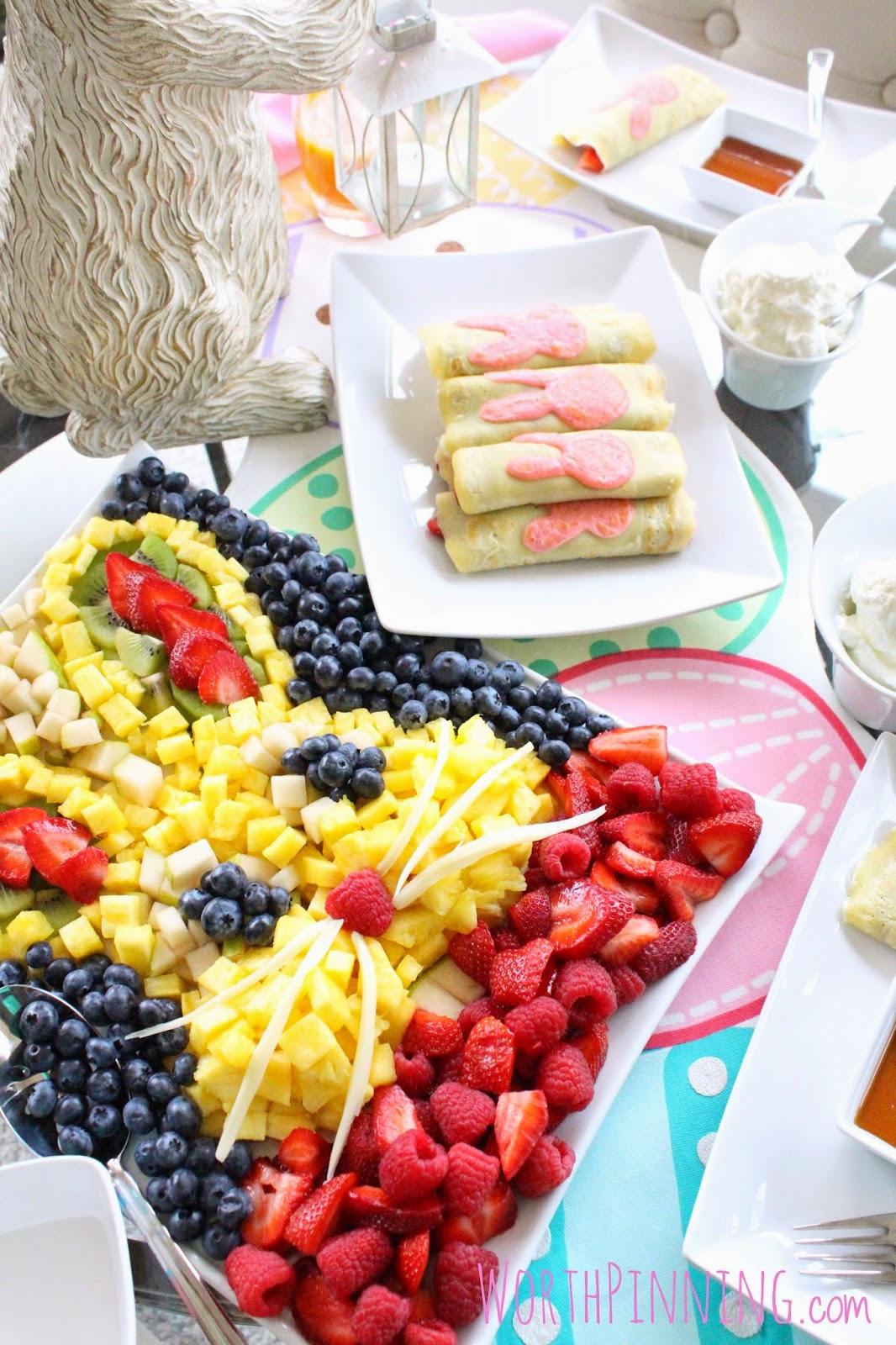 Worth Pinning Easter Brunch Fresh Fruit Amp Crepes