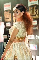 Apoorva Spicy Pics in Cream Deep Neck Choli Ghagra WOW at IIFA Utsavam Awards 2017 95.JPG