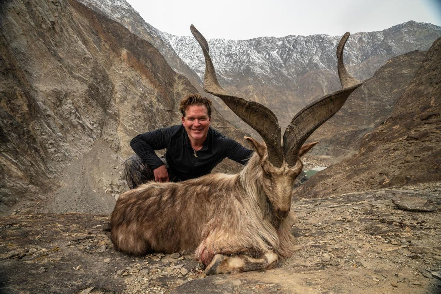 A Trophy Hunter Paid $110K To Hunt An Endangered Goat In Pakistan