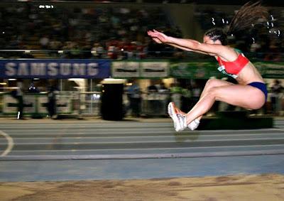 Salto largo atletismo enseñanza técnica