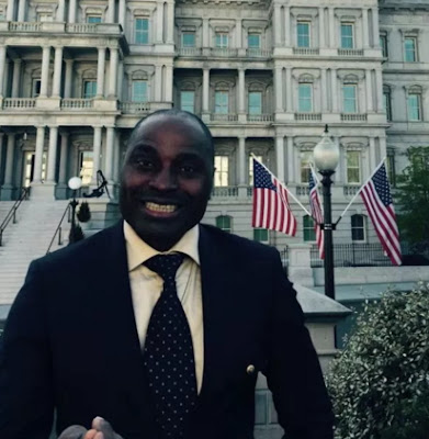 Image result for kenneth okonkwo white house