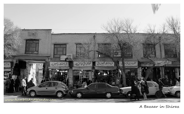 Iran: Vakeel Bazaar, Shiraz - Ramble and Wander