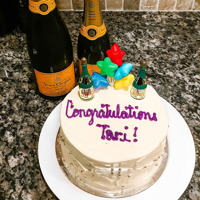 veuve clicquot champagne cake Rotman