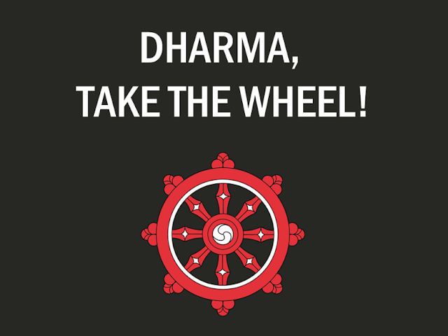 Olga Rukina. DHARMA, TAKE THE WHEEL!