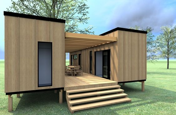 pop up caontainer homes design