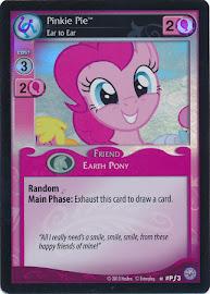 My Little Pony Pinkie Pie, Ear to Ear Premiere CCG Card