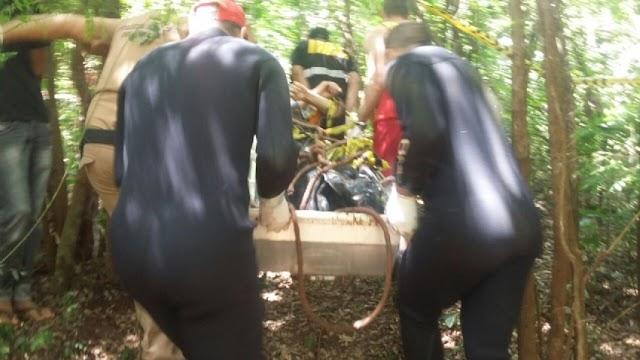 Encontrado o corpo do Jovem que desapareceu na noite da última segunda-feira durante pescaria em Juranda