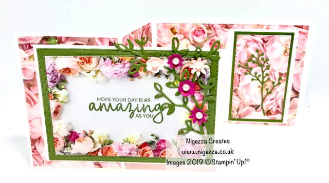 Petal Promanade InspireINK Mothers Day Card Nigezza Creates Stampin Up