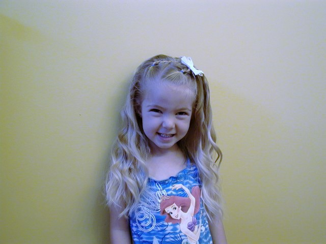 Most Beautiful Hairstyle For Little Girls