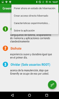 Configurar Greenify