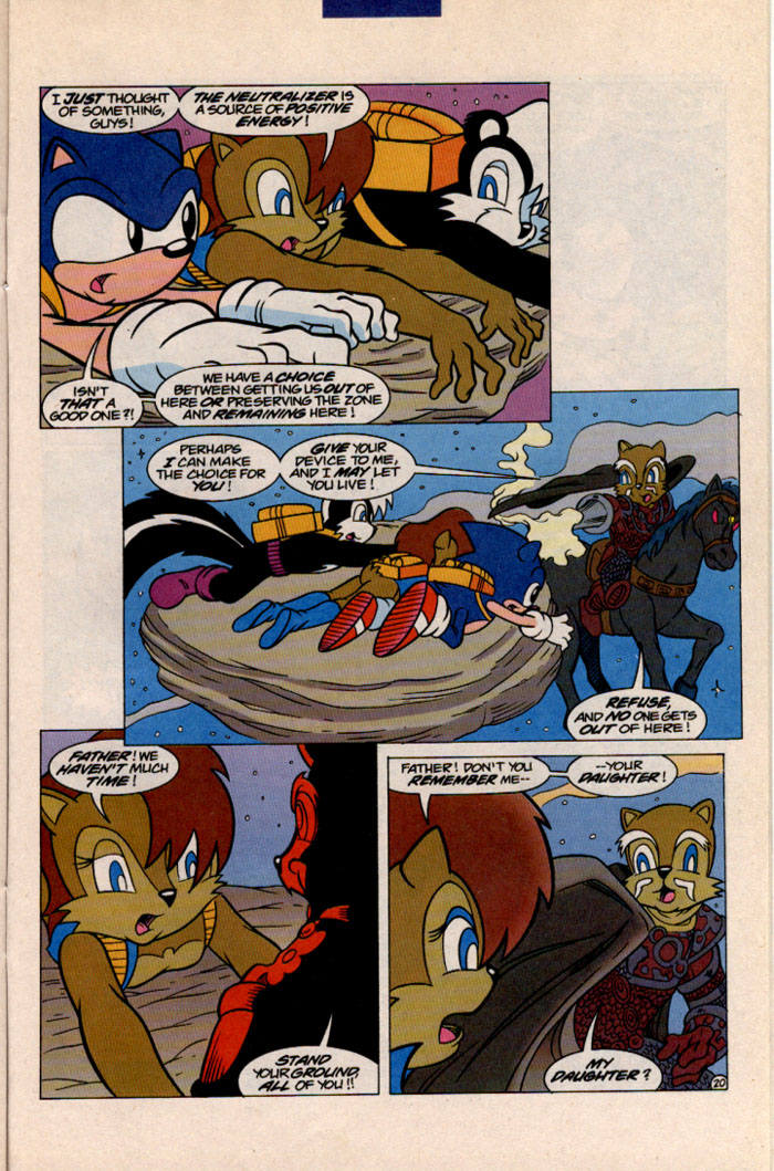 Read online Sonic The Hedgehog comic -  Issue #41 - 23