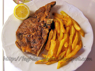 Μπριζόλες (μπριτζόλες) χοιρινές στη σχάρα - από «Τα φαγητά της γιαγιάς»