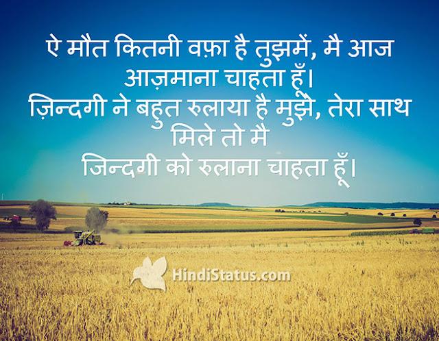How Much Dedication - HindiStatus