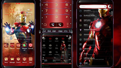 Free Download Iron Man Samsung Theme apk