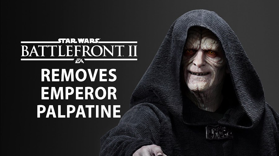 star wars battlefront 2 palpatine removed