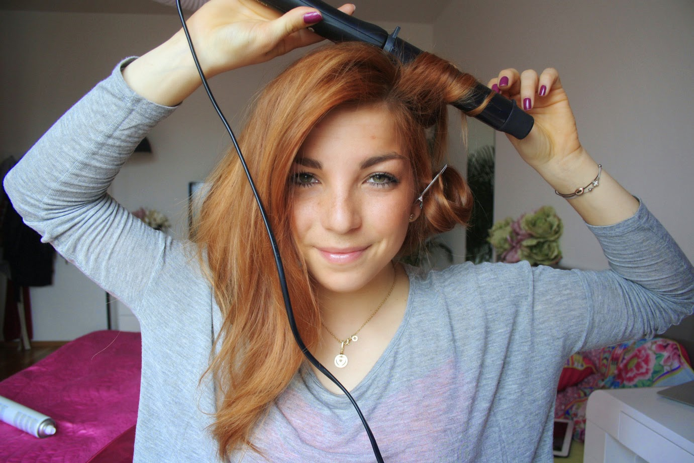 HOW TO  S DOMČOU - WAVY HAIR 12