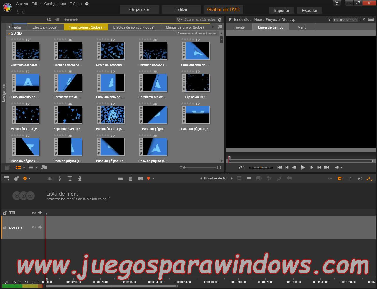 Pinnacle Studio Ultimate v18.0.1 Multilenguaje ESPAÑOL (CORE) 12