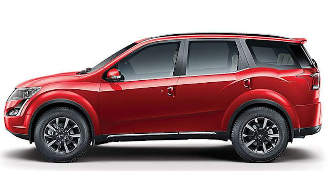 2018 New XUV 500 side look pics