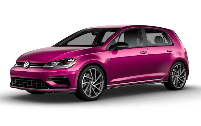Volkswagen GOlf R 2019 Purple