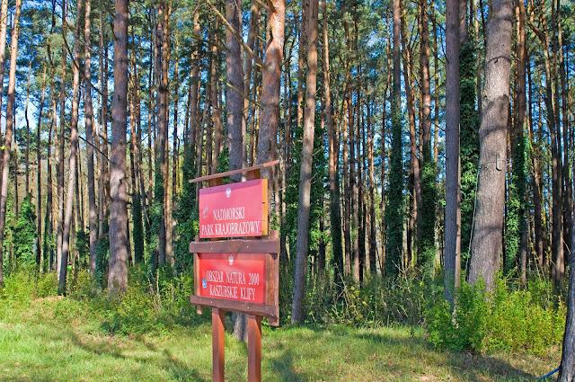 park narodowy Kaszuby klify obszar Natura 2000