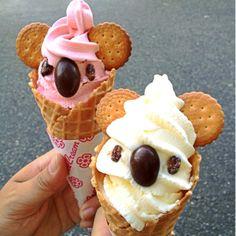 как интересно подать мороженое