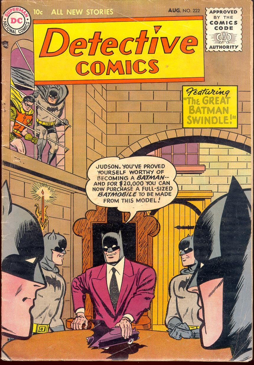 Detective Comics (1937) 222 Page 0