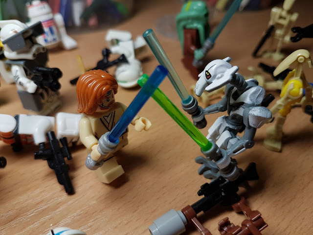 General Grievous VS Obi-Wan Kenobi Clone Wars Star Wars