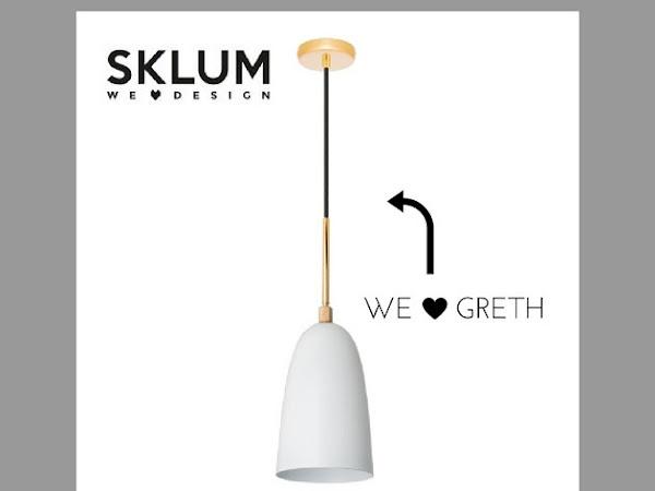 Mis nuevas lámparas en el dormitorio de Sklum