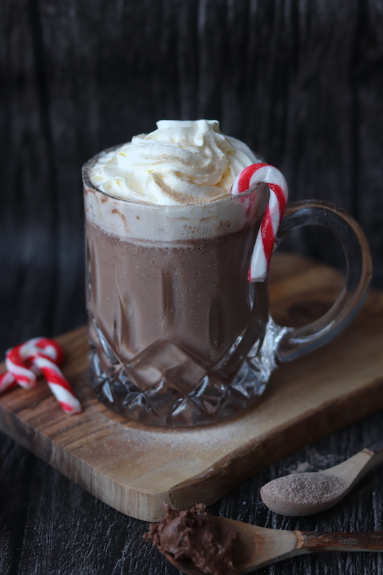 nutella and kahlua hot chocolate
