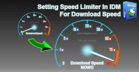 Meningkatkan Kecepatan Download di IDM Dengan Cara Mengatur Speed Limiter