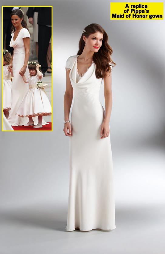 72aeaccf6f4 Espelho da Cinderela  Fake! Cópias Dos Vestidos Do Casamento Real!