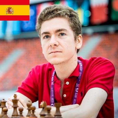 El ajedrecista GM David Antón
