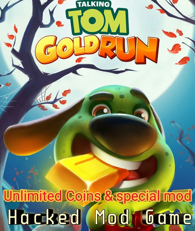 Talking tom gold Run Mod apk unlimited Coins and crack