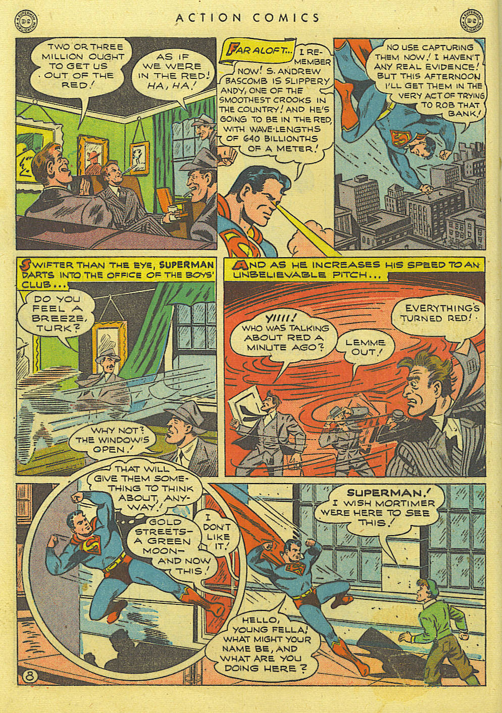 Read online Action Comics (1938) comic -  Issue #89 - 10