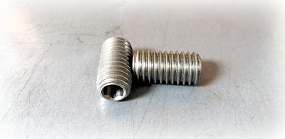 Custom Oval Point Set Screws - 7/16-14 X 7/8 in 18-8 Stainless Steel Material