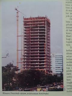 menara drassindo bukan menara gracindo, majalah konstruksi