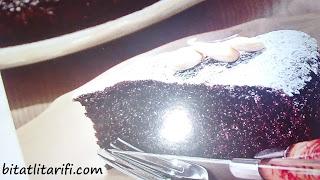 cikolatali bademli kek
