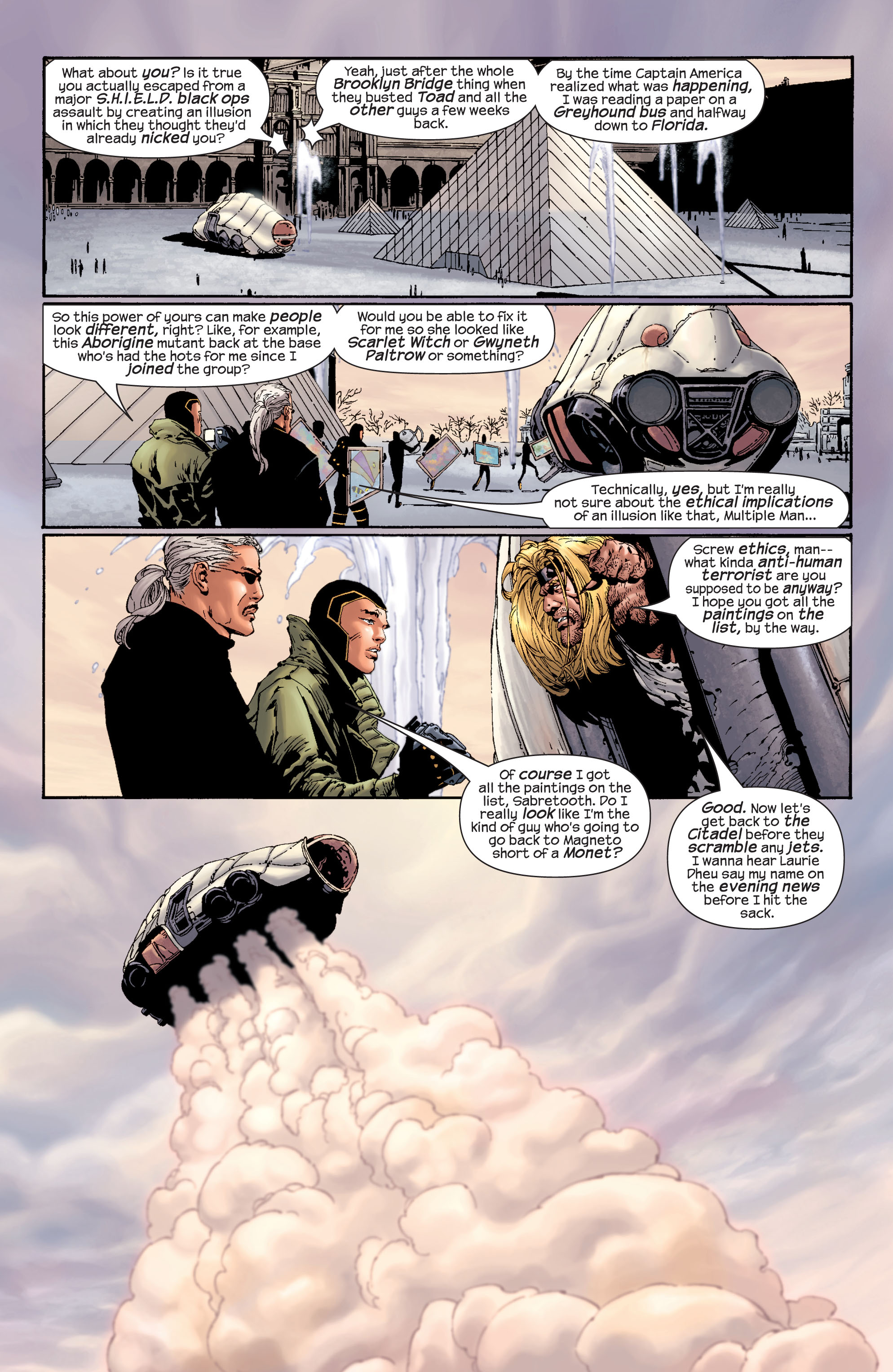 Read online Ultimate X-Men comic -  Issue #27 - 5