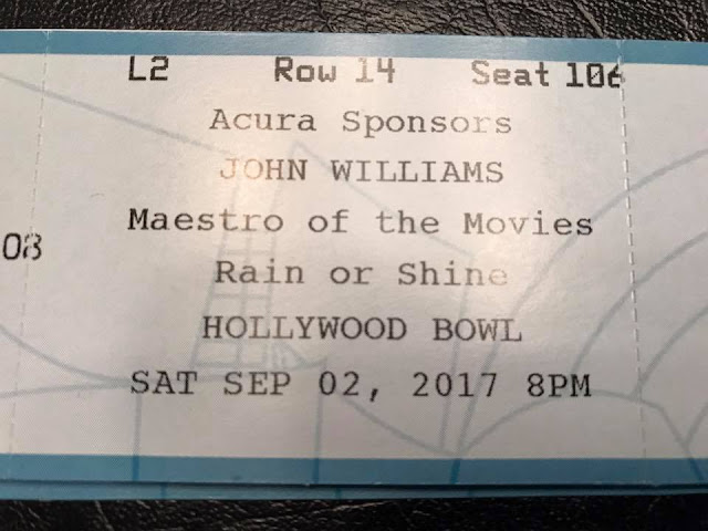 john williams hollywood bowl ticket