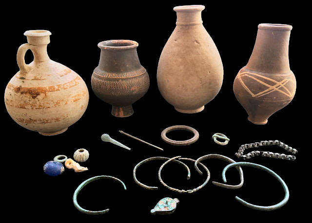 Excavation of Roman Cemetery nominated for British archaeology award