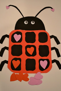 Ladybug Valentine Paper Craft for Preschool Kindergarten